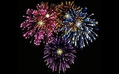 Silvester- Feuerwerk